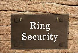 ring security wedding ring security wedding page boy or flower girl wooden sign