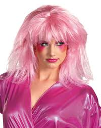 wigs for halloween the officially licensed jem wig is positively pink halloween