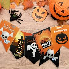 halloween yard flags amazon com halloween decorations hip2cart halloween flag