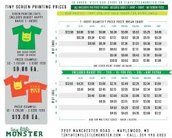 Pricing Spreadsheet Template Price Quote Tiny Little Monster