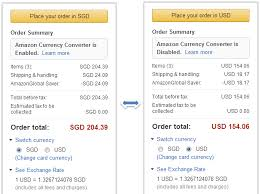 Usd To Sgd Amazonglobal Free Shipping To Singapore On Purchases