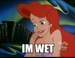 Ariel Meme - wet ariel disney princess know your meme
