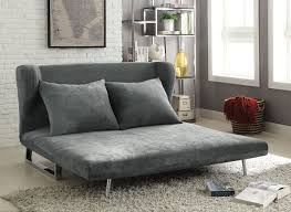 Velvet Sofa Bed Grey Velvet Sofa Bed Futon Caravana Furniture