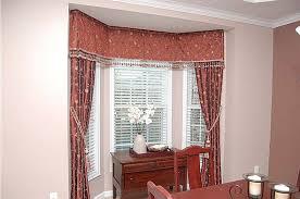 creative of small bay window treatment ideas window treatment