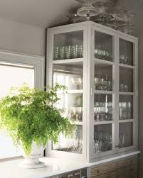 used kitchen glass cabinet doors martha s top kitchen organizing tips glass kitchen cabinet