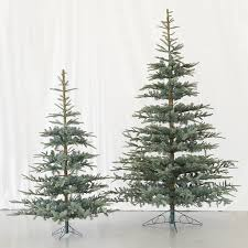 faux noble fir artificial silvertip tree on