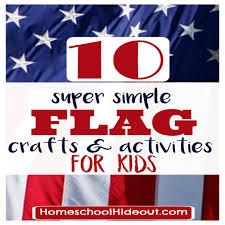 flag crafts u0026 activities for kids homeschool hideout