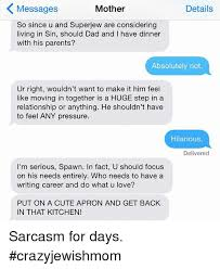 Moving In Together Meme - messages details mother so since u and superjew are considering