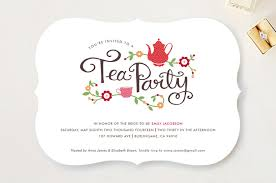 tea party bridal shower invitations tea party bridal shower invitations by kristen smith minted