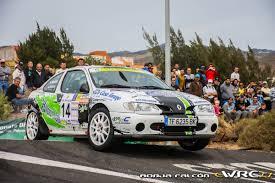 renault rally 2016 aníbal machín alejandro falcón padrón renault mégane coupé 16v