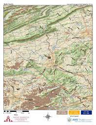 Map Of Berks County Pa Pennsylvania Wind Maps St Francis University