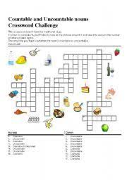 Countable And Uncountable Words Worksheet Countable And Uncountable Nouns Countables And Countables
