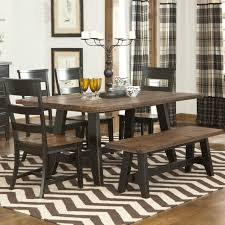 Rustic Kitchen Table Fabric Stand On Gray Rug Ideas Black Wooden - Dining room table placemats