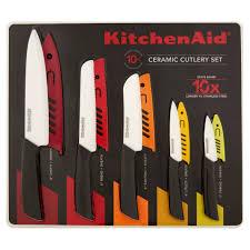 kitchenaid ceramic 10 piece cutlery set walmart com