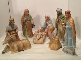 home interiors nativity vintage homco home interior 5603 porcelain nativity