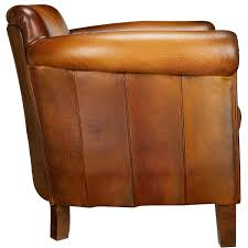 Vintage Brown Leather Armchair Leather Arm Chairs Irving Leather Armchair Chestnut Pottery Barn
