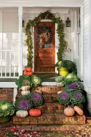 Fall Garden Decorating Ideas 40 Amazing Ways To Decorate Your Front Door With Fall Style