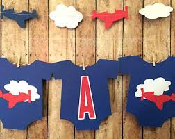 airplane baby shower decorations airplane baby shower etsy