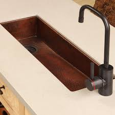 30 inch rio chico copper bar u0026 prep trough sink native trails
