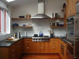 Kitchen Cabinet San Francisco San Francisco Cherry Kitchen Cabinets Contemporary With Shelving