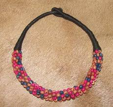 african bead necklace images African zulu bead necklace jpg