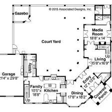 mediterranean house plans with courtyards excellent house plans with central courtyard contemporary best