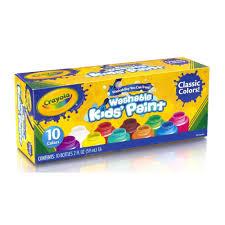 crayola large washable crayons eight count walmart com