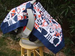 Carseat Canopy For Boy by Baby Car Seat Cover Baby Car Seat Canopy Nautical Car Seat