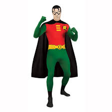 robin 2nd skin full body spandex zentai jumpsuit unitard