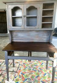 weathered wood and beadboard painted hutch farm fresh vintage finds