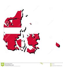 denmark map flag royalty free stock photo image 7662615