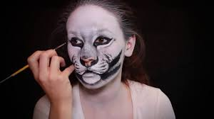Tiger Halloween Makeup by White Tiger Makeup Tutorial How To Face Paint Youtube