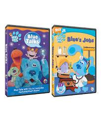 blues clues blue talks u0026 blues jobs dvd set zulily
