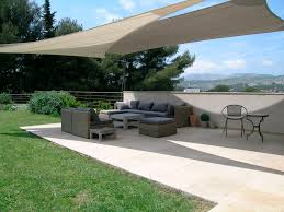attractive backyard sun shade sail good ideas home design