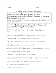 englishlinxcom  pronouns worksheets with regular pronouns worksheets from englishlinxcom