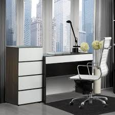 White Mesh Desk Chair by Divine White Office Interior With L Shaped Computer Desk And White