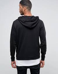 asos asos halloween hoodie with skeleton fist print