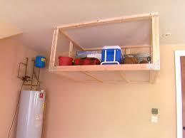 Bathroom Amusing Metal Garage Storage Overhead Garage Storage Shelf Video Diy