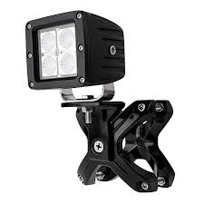 roll bar mount led light universal x cl led light mounts for 2 1 4 to 3 roll cage tubes