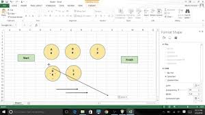 using excel 2013 graphic tools to create network diagrams youtube