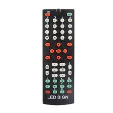 mini 12v car scrolling display sign light remote control moving