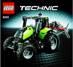 lego technic pieces technic lego tractor instructions 9393 technic