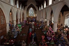 fakenham christmas tree festival 3 to 10 december 2015 parish