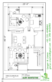 25x45 house plan elevation 3d view 3d elevation house