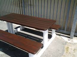 Outdoor Dining Patio Furniture by Patio Table And Bench Set Garden Table Bench And Chairs Outdoor