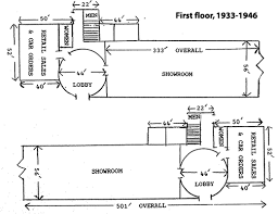 chrysler building floor plans chrysler corporation office and display building 1933