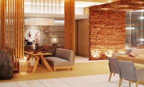 fascinating decorating idea with brown wooden wall texture