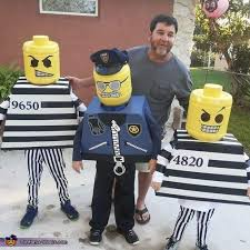 Cops Robbers Halloween Costumes 36 Diy Lego Costumes Images Lego Costume