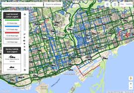 Real Time Maps City Of Toronto U0027s New Snow Plow Tracking Map Put To The Test