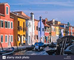 colorful cities boat boats burano canal canals cities city cityscape cityscapes